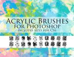 Zummerfish's Acrylic Brushes for Photoshop by zummerfish