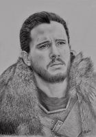 Jon Snow by VKCole