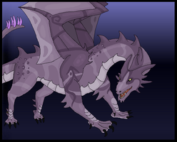 The Night Dragon by Gazzelles