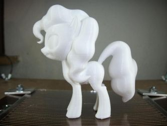 3D printed pony - High-res Pinkie Pie by nerdtron44