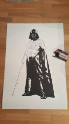Darth Vader from Star Wars by daniart-de