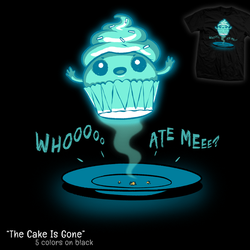 The Cake Is Gone - tee by InfinityWave