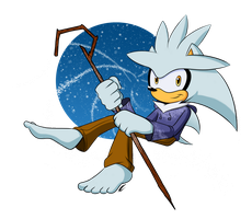 Silver as Jack Frost by XxCeruleanSketch158