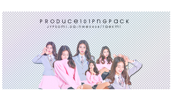 15 / PRODUCE 101 SOMI PNG PACK by NWE0408