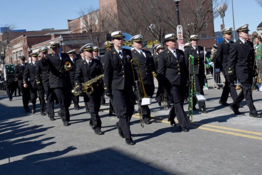 St. Patrick's Day Parade, Uniforms/Music In Line by Miss-Tbones