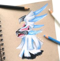 Silvally (Ice) by Galactic-sky-99