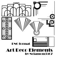 Art Deco Elements by Nolamom3507
