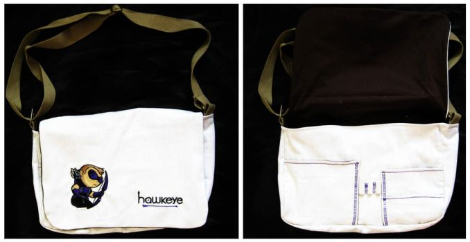 Hawkeye Messenger Bag by toshiyanemura