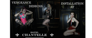 Vengeance Designs Installation at Hotel Chantelle by lawrencebrenner