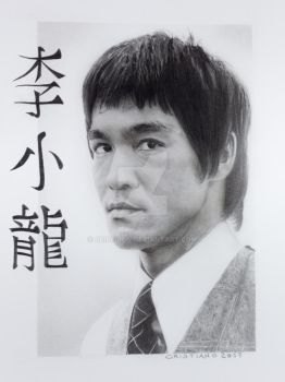 Bruce Lee by cridesign