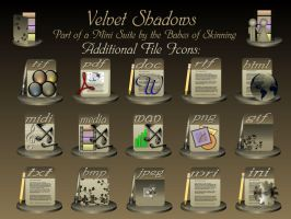 Velvet Shadows File Icons by 47songs