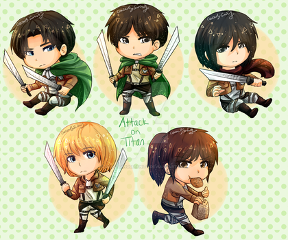 Attack on Titan by CascadingSerenity