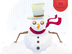 Snowman by firmacomdesign