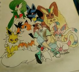 Pokemon Team by Monse2001