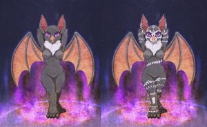 Batty The Bat(varies) by LunoLey