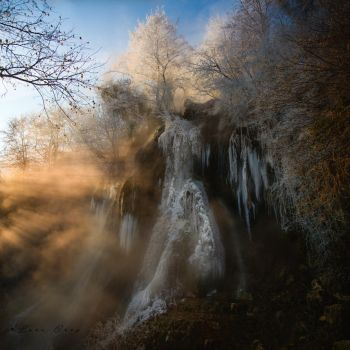 Waterfall by sistersinnister