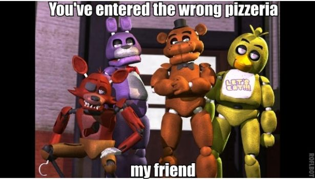 Wrong pizzeria by Infernox-Ratchet