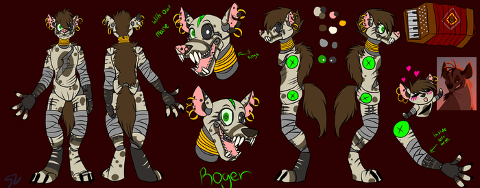 Roger ruff sheet by Atomic52