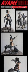 Ayame from TENCHU video game by gaudiamo