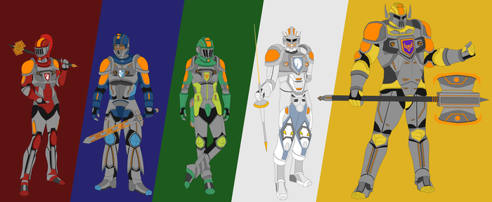 The Nexo Knights by BobBricks