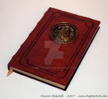 Ancient Tome Book of Riches Wealth by RaptorArts