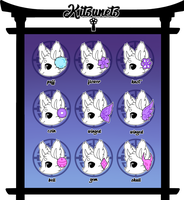 Kitsunet Ear/Tail Tuft Trait Guide by Miizue