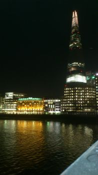 London - Shard - Nightview by zee2abc1