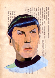 Toying With Tempera: Spock by Saphhic
