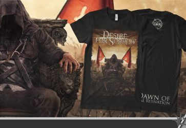 DESIRE FOR SORROW tshirt by isisdesignstudio