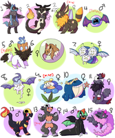PKMNation:: Gifts From Pokesatan (OPEN) by Nidobro