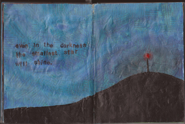 Art Journal: Entry #19 - Shine by Greenpolarbear47