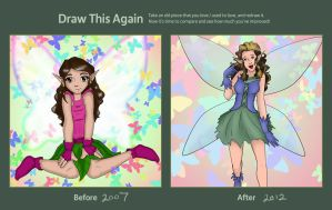 Crystal Fairy - 2007 to 2012 by BethanyAngelstar