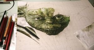 Yoda WIP 8 by thefrenchberet