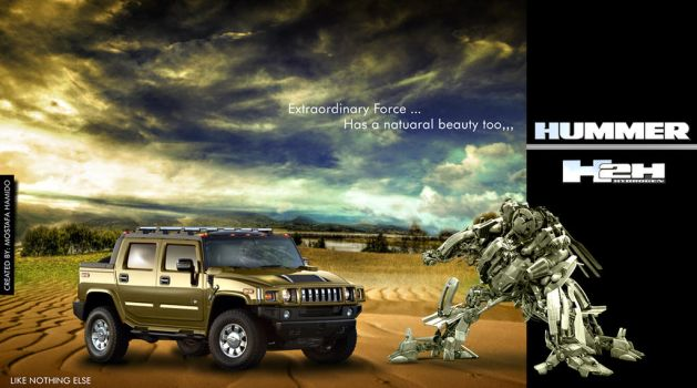 HUMMER Concept by illuphotomax