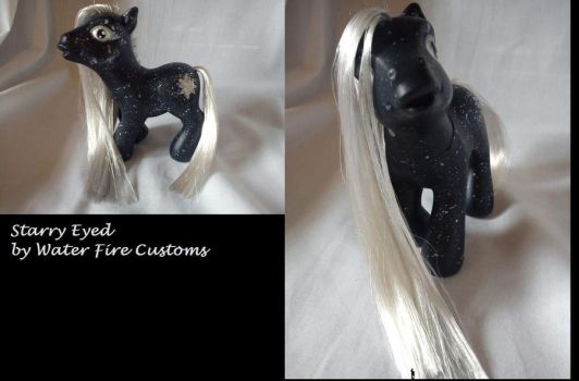 Starry Eyed - Custom G3 My Little Pony by WaterFireCustoms