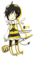 bee adopt [CLOSED] by AmberTheSatyr