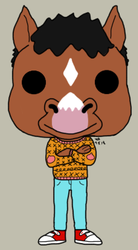 90s Bojack Pop by GaribaldiDaydream