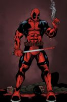 Deadpool by mike-mcgee