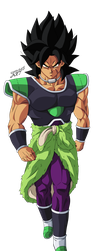 Broly! by Cholo15ART