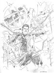 Doctor Strange / pencils by jasonbaroody