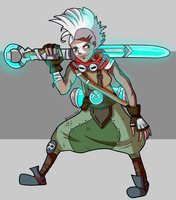 Ekko, the boy who shattered time by KarolG66