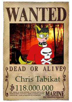 WANTED: Chris by TicklishLion