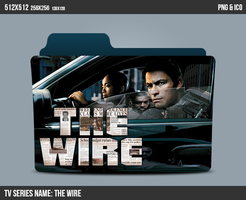 The wire Folder ICON by kasbandi