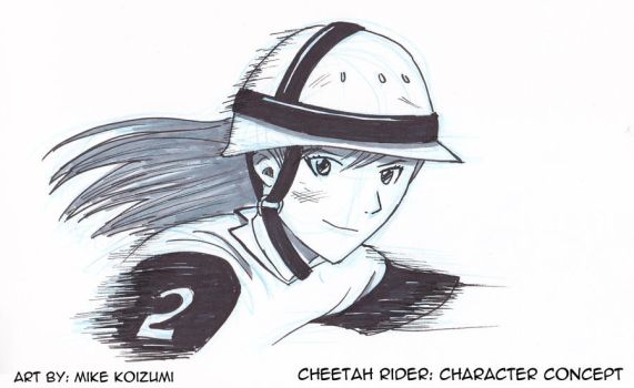 Cheetah Polo: Girl Rider by MikeKoizumi