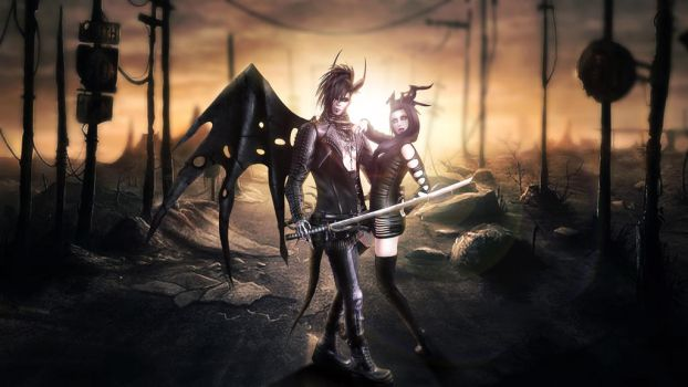 Assasins - Second life photography by Darkans