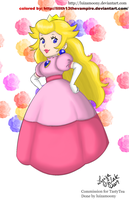 Retro Peach-colors- by Lilith13thevampire