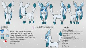The Eevee Club: Team Assist - Crystal The Glaceon by The-Eevee-Club