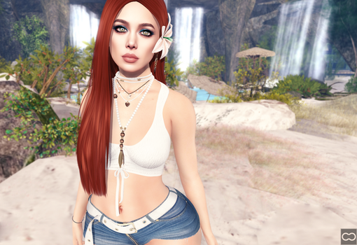 SL: Like A Waterfall by CryssieCarver