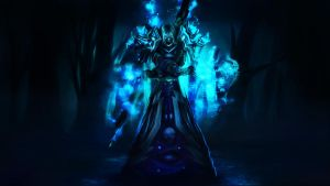 WoW, Frost Undead Mage by Vreckovka