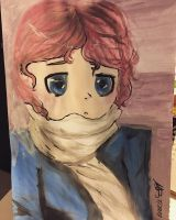 Water Color Attempt by MoonlightWolf17